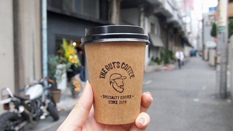 THE-GUT'S-COFFEEザ・ガッツコーヒー梅田