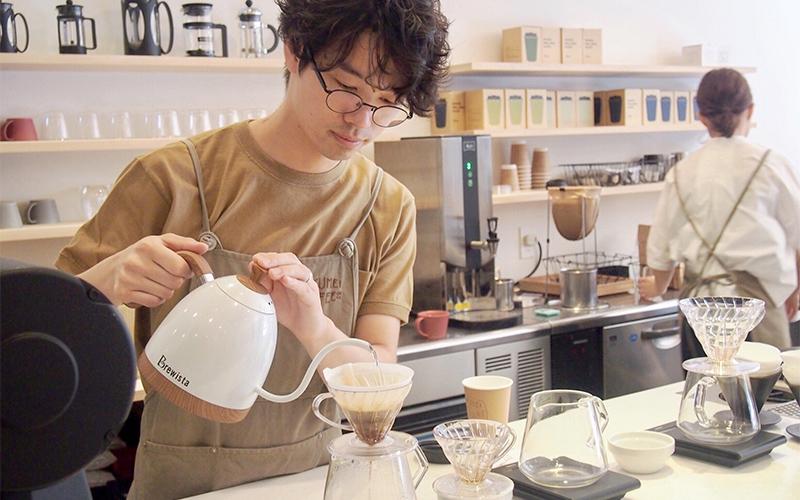 ROKUMEI-COFFEロクメイ-コーヒー店内
