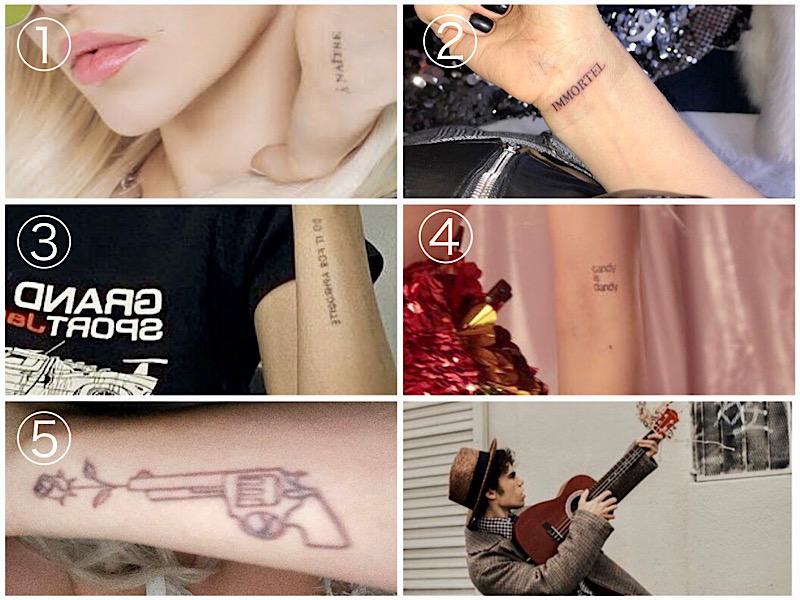 dove cameron tatoo